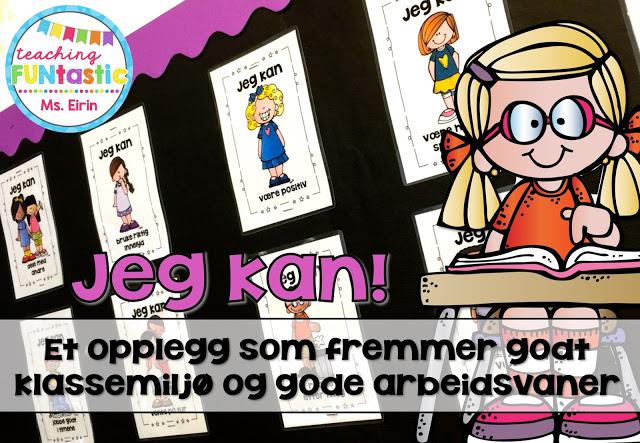Plakater med positive klasseregler for godt klassemiljø