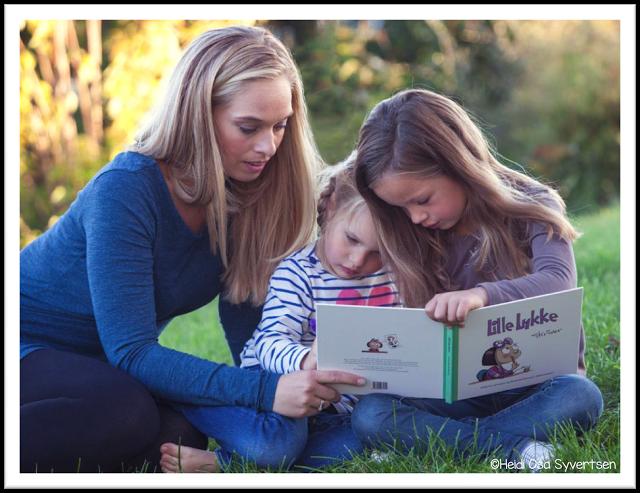 Lese førskoleboka Lille Lykke skriver. Høytlesingsbok til førskoledag.